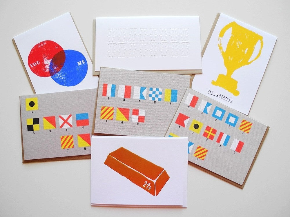 Greeting cards by Yellow Owl Workshop