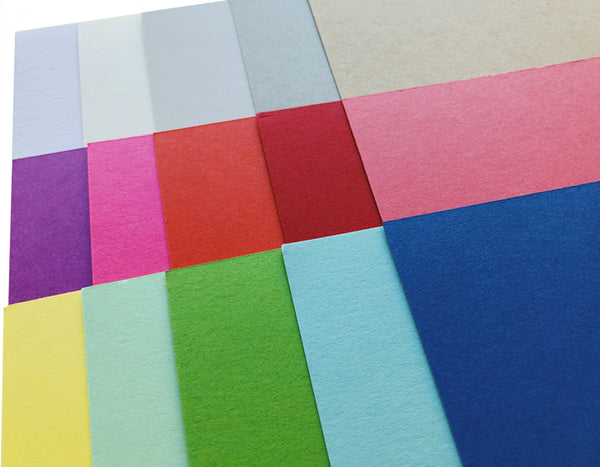 Colorful Blank A2 Flat Cards