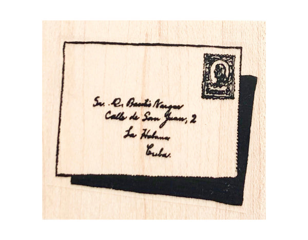 Snail Mail and Art Themed Rubber Stamps