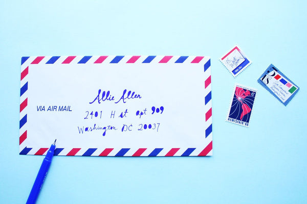 Set of 10 Air Mail Envelopes