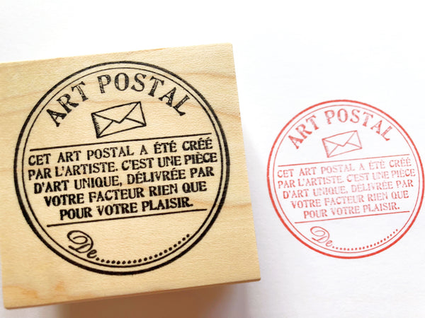 Mail Art and Handwritten Letter Rubber Stamps