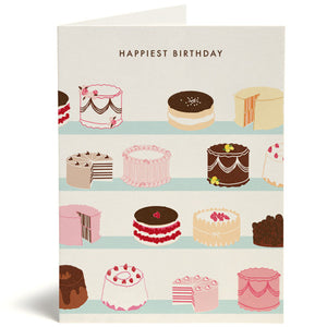 Bakery Happy Birthday Card