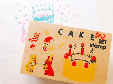 Cake Stamp Set in Box