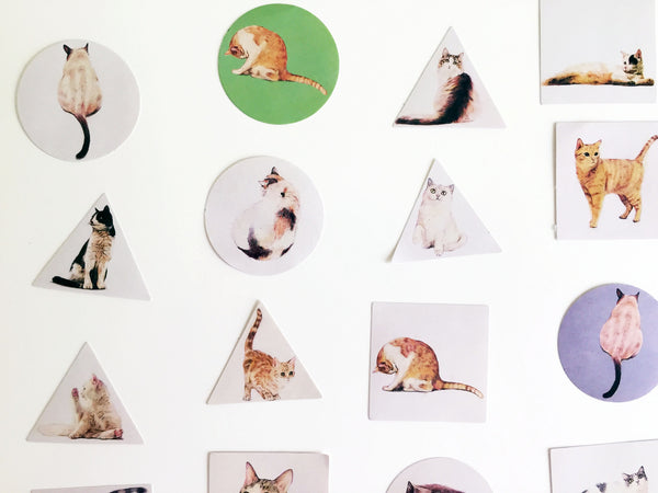 Cat Pack of Stickers