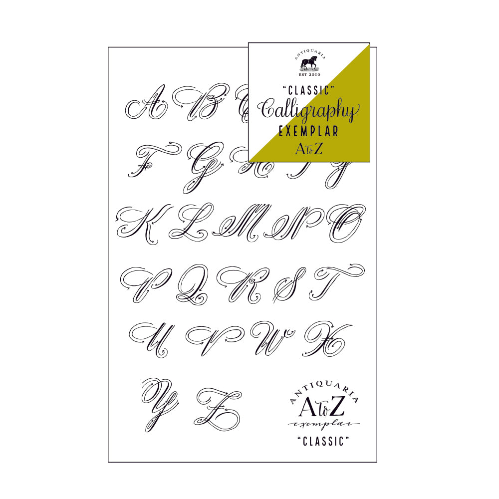CLASSIC CALLIGRAPHY EXAMPLE KIT