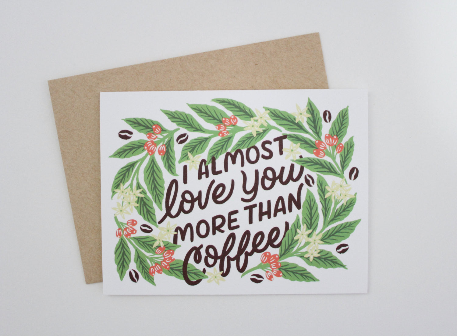 Love Coffee Card