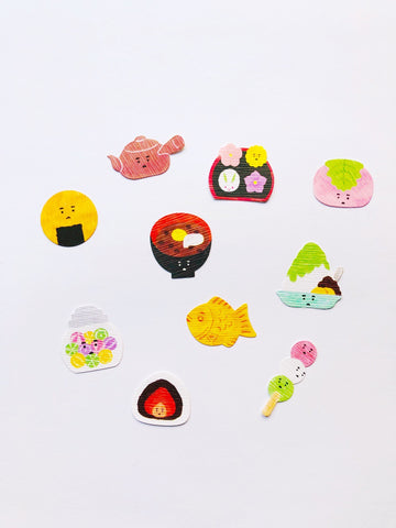 Japanese Sweets Stickers