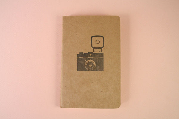 Hand Stamped Moleskine Notebook