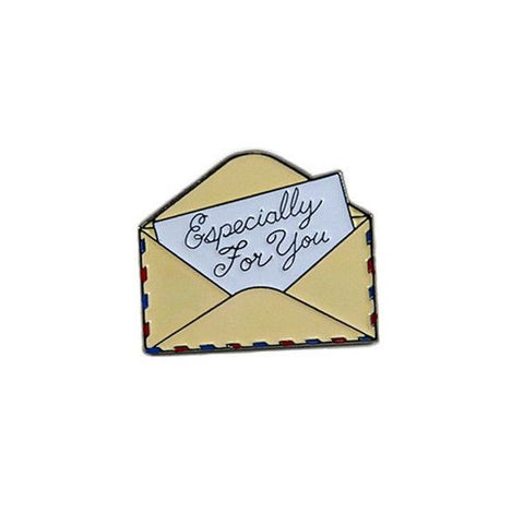 Especially For You Envelope Enamel Pin