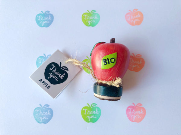 FRUIT SHAPE RUBBER STAMP