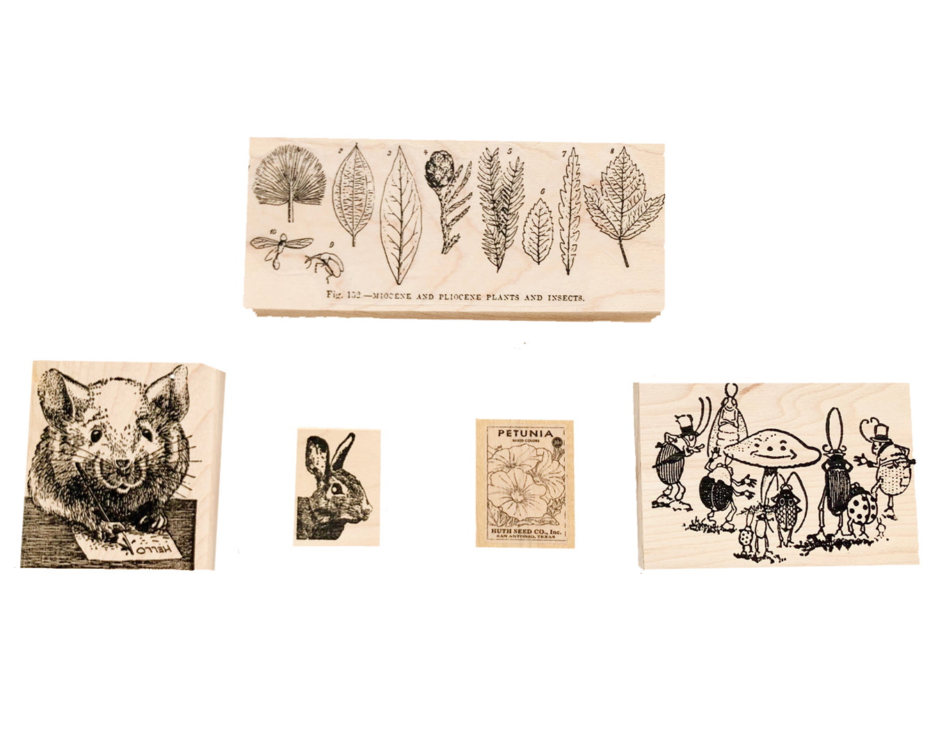 Garden Rubber Stamps