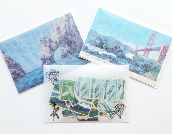 GLASSINE ENVELOPES Set of 10