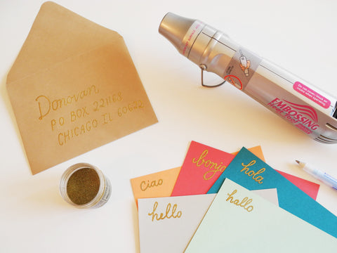 Glue Pen and Embossing Accessories