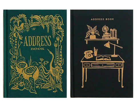GREEN OR BLACK ADDRESS BOOK
