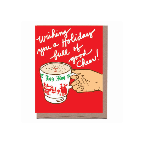 EGG NOG SCRATCH & SNIFF HOLIDAY CARD