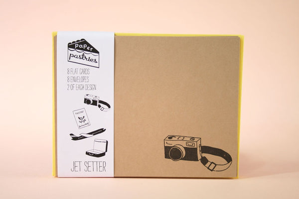 Jet Setter Stationery Set