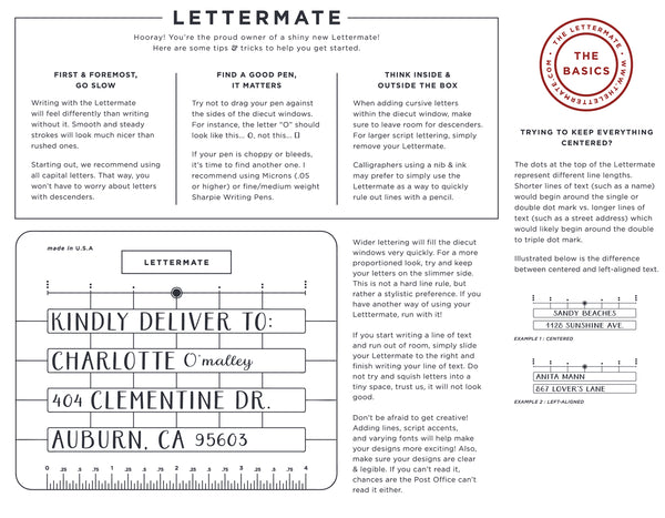 The Lettermate