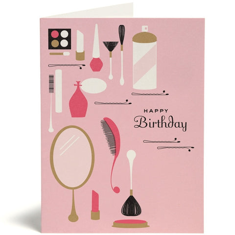 Happy Birthday Makeup Card