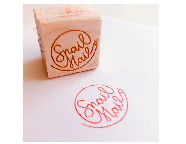 Snail Mail Book Rubber Stamps