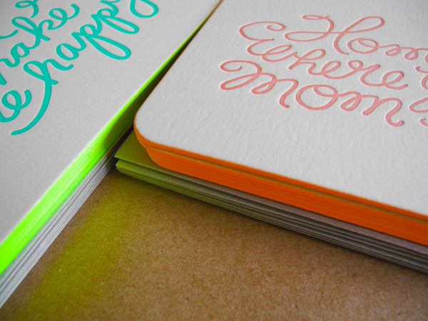 Moglea Ultra Luxe Letterpress Cards
