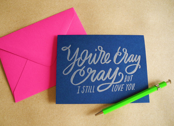 Moglea Letterpress Greeting Cards
