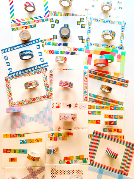 MT Washi Tape Rainbow Stripe