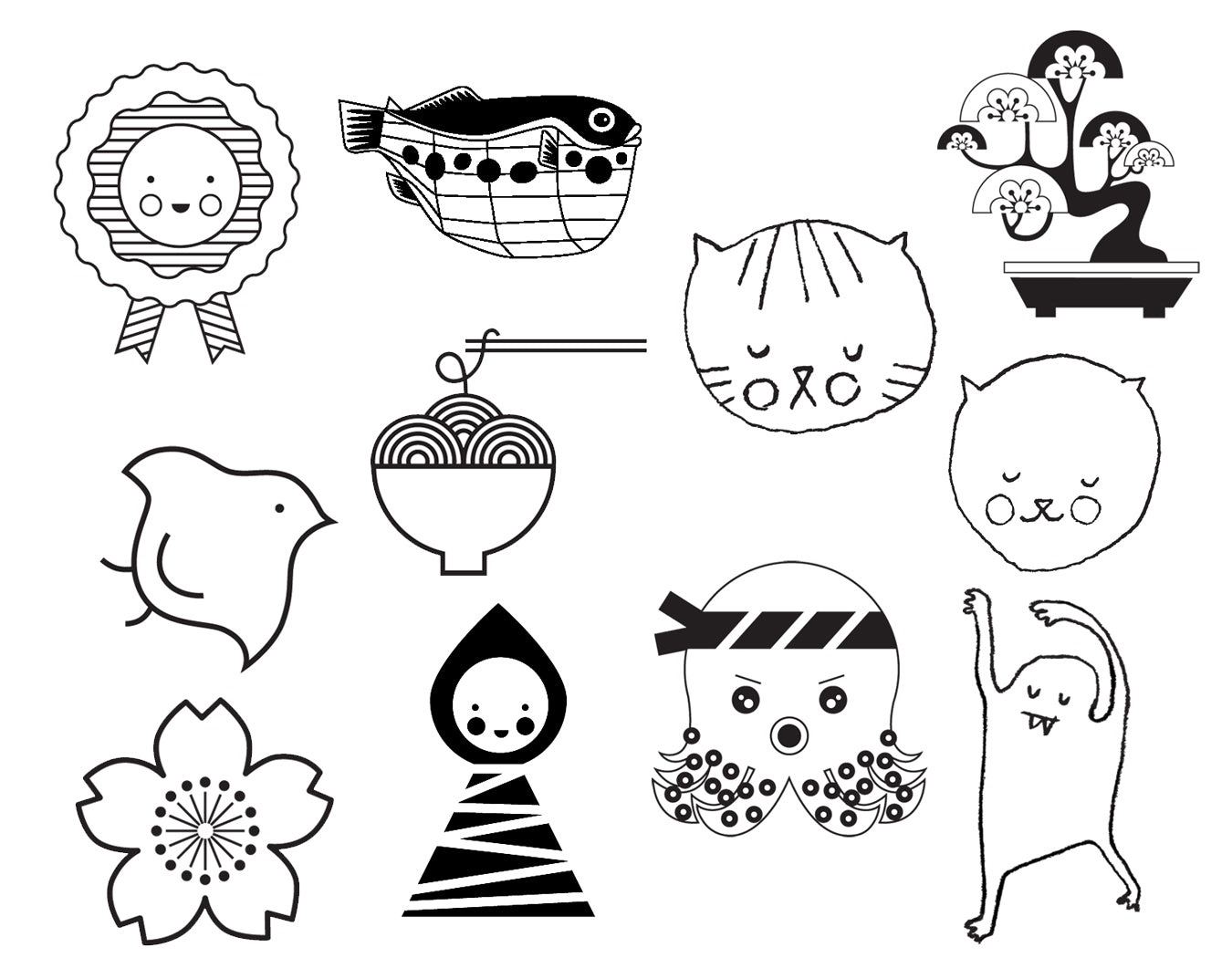 NEW MICHELLE MACKINTOSH RUBBER STAMPS