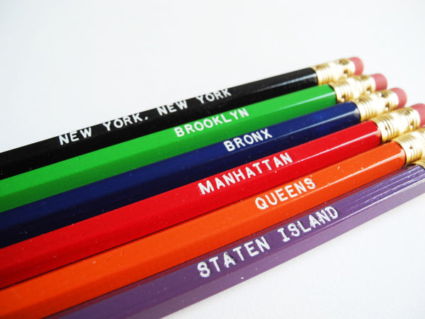 Paper Pastries New York Pencil Set