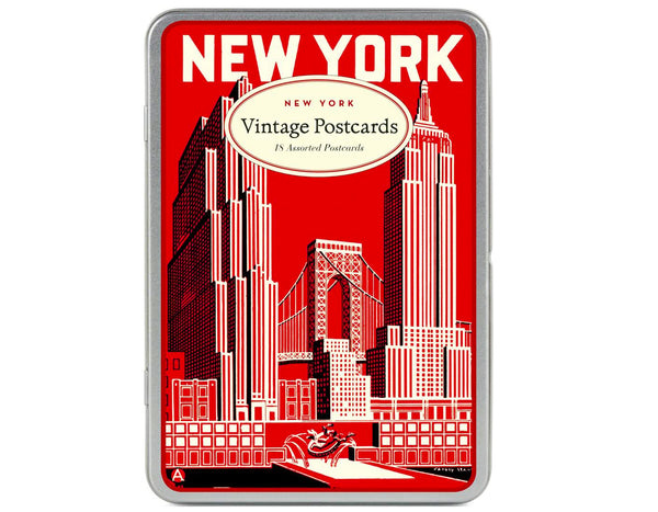 Vintage Inspired New York Postcards