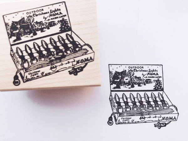 Holiday Rubber Stamps