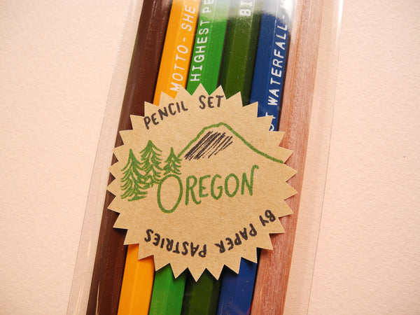 Paper Pastries Oregon Pencil Set