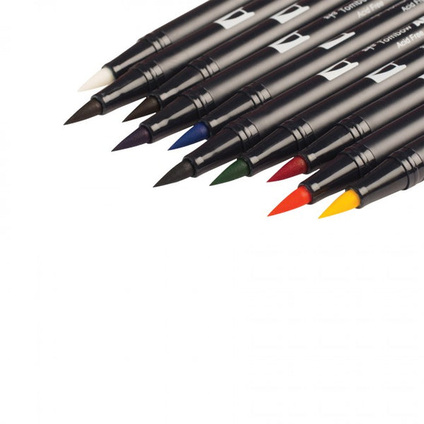 Tombow Dual Brush Pen - 10 Pen Set