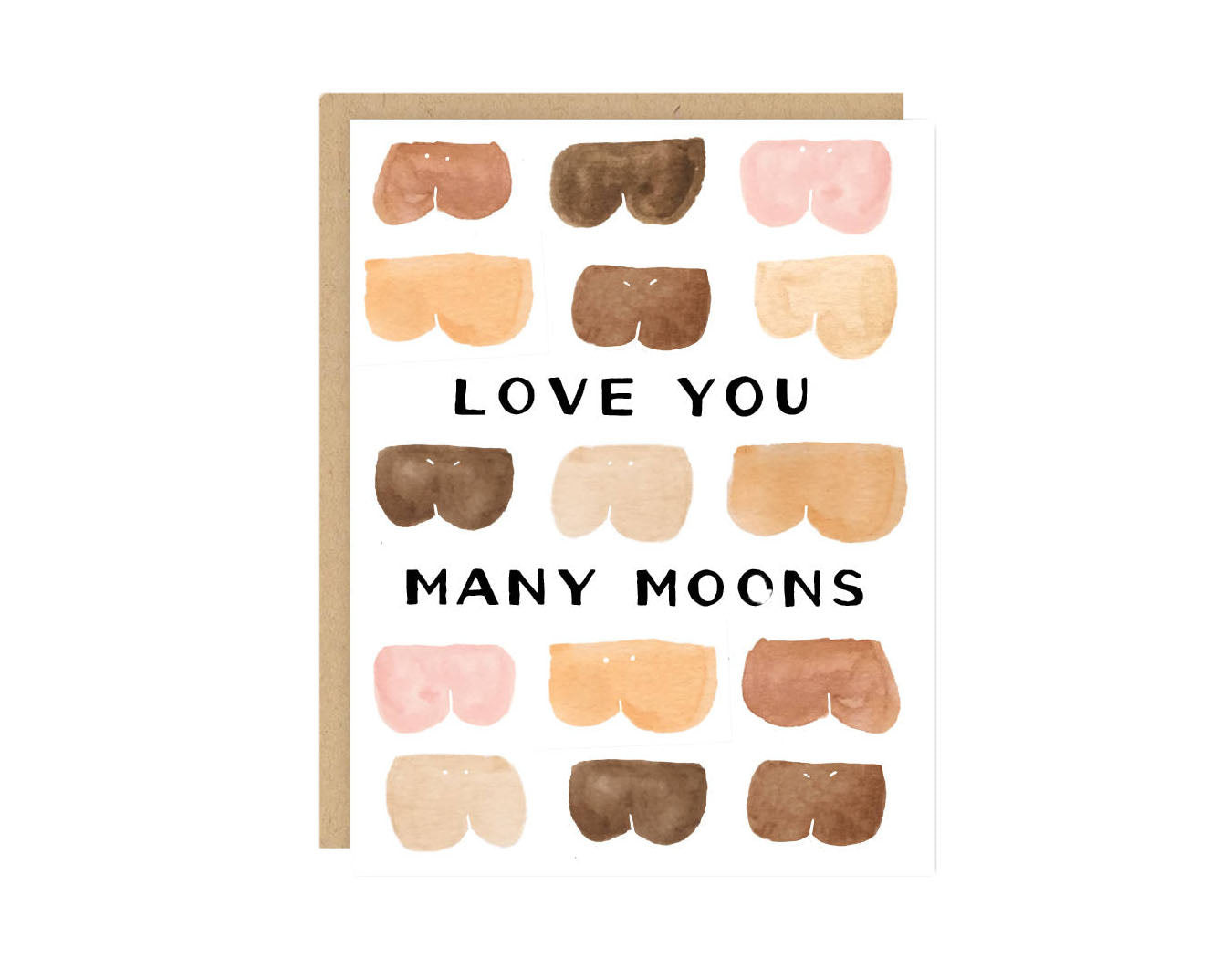 Funny Butts Love Card