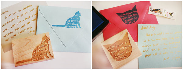 Custom Pet Return Address Stamp