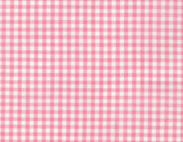 Pink Gingham Reusable Face Mask