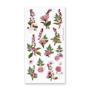 Pressed Flowers Stickers
