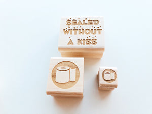 Self Quarantine Mail Rubber Stamps