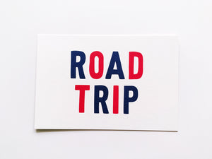 Road Trip Summer Vacation Card