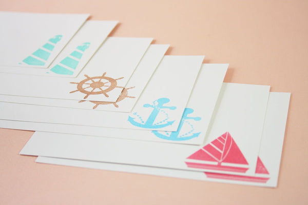 Santa Cruz Stationery Set