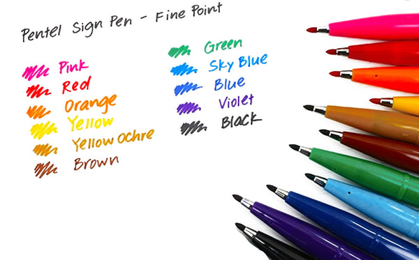 Pentel Sign Pen