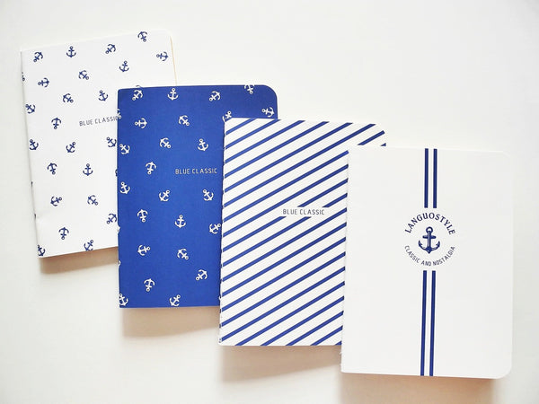 Slim Nautical Notebook