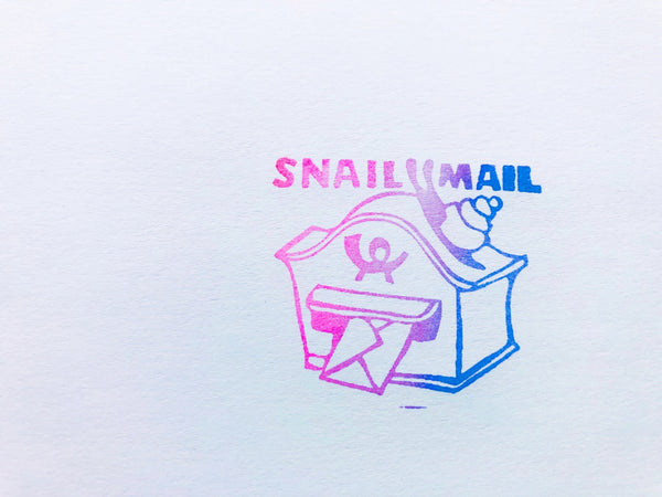 EXTRA SPECIAL MAIL THEME RUBBER STAMPS FROM GERMANY