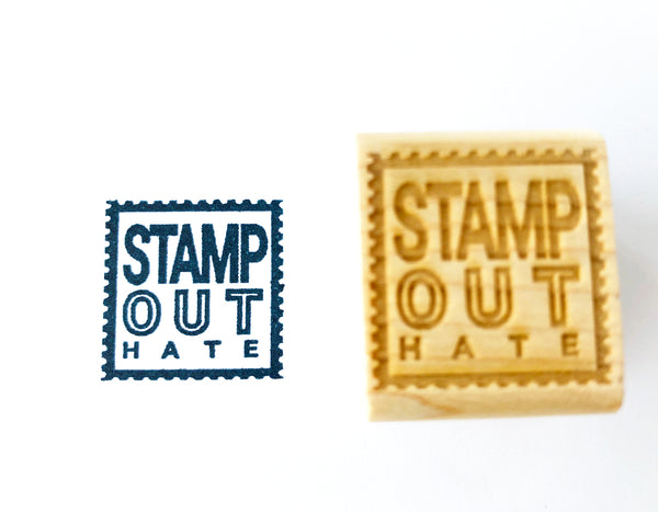 STAMP OUT // HATE BLACK LIVES MATTER Rubber Stamps