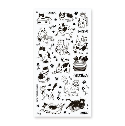 Cat Sketches Stickers
