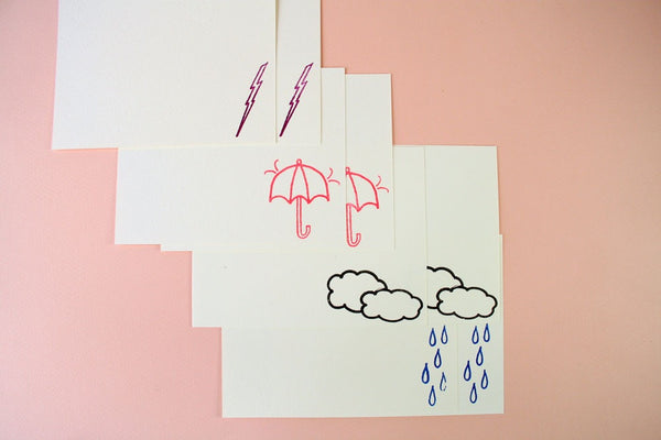 Stormy Weather Stationery Set