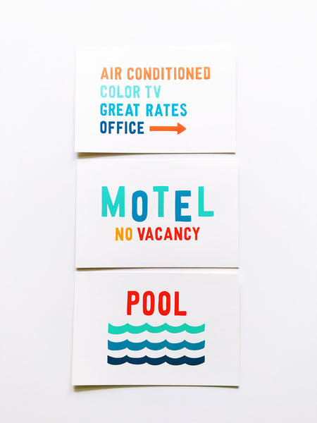 Pool Summer Vacation Card