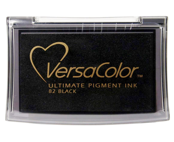 Tsukineko Full-Size VersaColor Ultimate Pigment Black Ink Pad