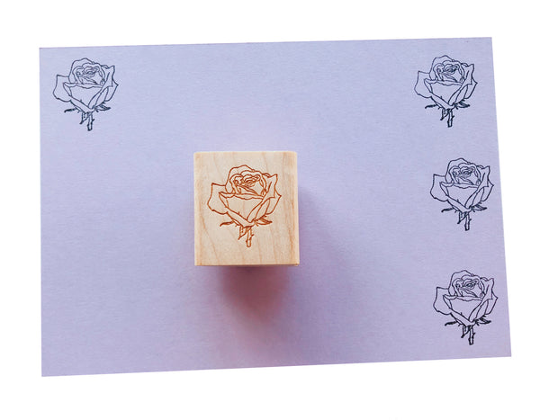 Vintage French Floral Stamps