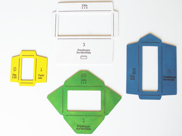 Wooden Envelope Templates
