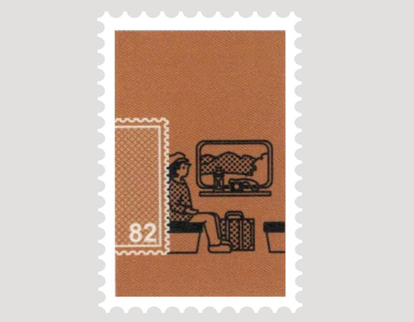 A small world around stamps